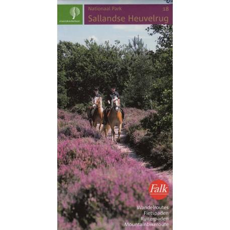 18. Wandelkaart Sallandse Heuvelrug (Staatsbosbeheer)