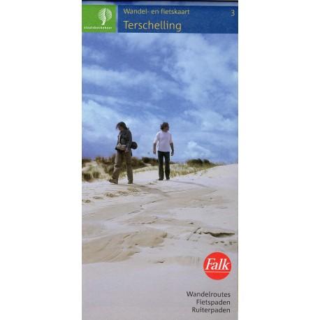 3. Wandelkaart Terschelling (Staatsbosbeheer)
