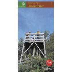 5. Wandelkaart Lauwersmeer (Staatsbosbeheer)