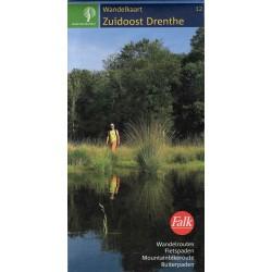 12. Wandelkaart Zuidoost Drenthe (Staatsbosbeheer)