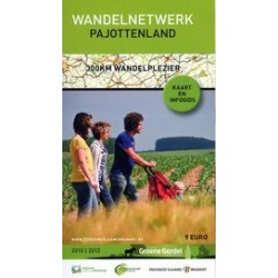 Wandelkaart Pajottenland + gids