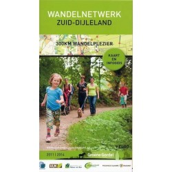 Wandelkaart Zuid Dijleland + gids
