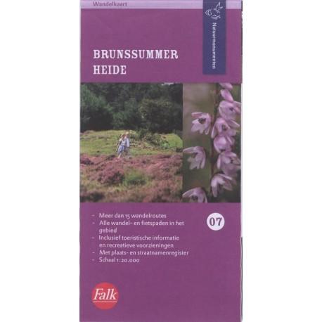 7. Wandelkaart Brunssummerheide (Natuurmonumenten)