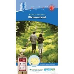 Wandelkaart wandelnetwerk Rivierenland (BE)