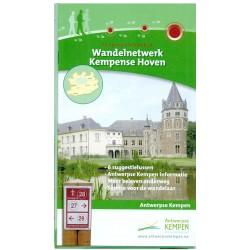 Wandelkaart Kempense Hoven + wandelgids