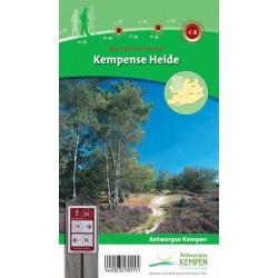 Wandelkaart Kempense Heide + wandelgids