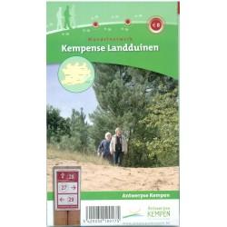 Wandelkaart Kempense Landduinen + wandelgids