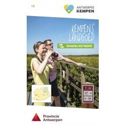 Wandelkaart Kempens Landgoed + wandelgids