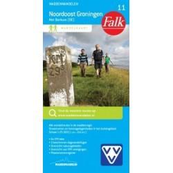 Wandelkaart Noordoost Groningen (Falk)