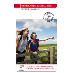Nederlands Kustpad deel 3, Friesland en Groningen