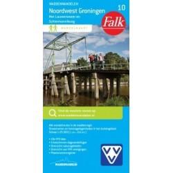 Wandelkaart Noordwest Groningen (Falk)