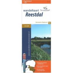 Wandelkaart Reestdal, gemeente Staphorst