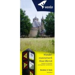 Wandelkaart wandelnetwerk Hout-Blerick (Venlo)