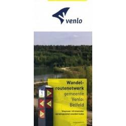 Wandelkaart wandelroutenetwerk gemeente Venlo: Belfeld