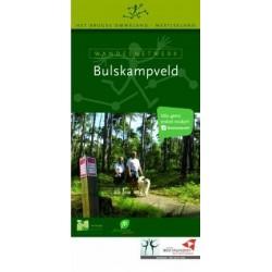 Wandelkaart wandelnetwerk Bulskampveld