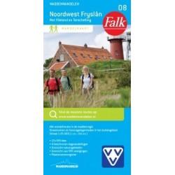 Wandelkaart Noordwest Friesland (Falk)
