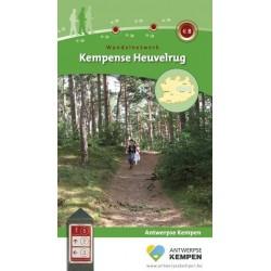 Wandelkaart Kempense Heuvelrug + wandelgids