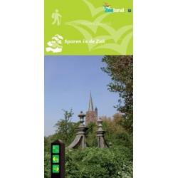 Wandelkaart Sporen in de Zak, wandelnetwerk Zuid-Beveland