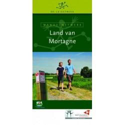 Wandelkaart wandelnetwerk Land van Mortagne