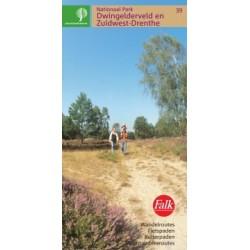 39. Wandelkaart NP Dwingelderveld en Zuidwest-Drenthe (Staatsbosbeheer)