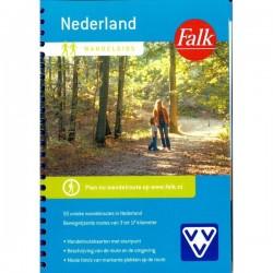Wandelgids nederland met 50 unieke wandelroutes (Falk-VVV)