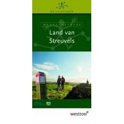 Wandelkaart wandelnetwerk Land van Streuvels
