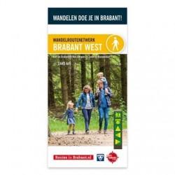 Wandelkaart Brabant West- De Brabantse Wal