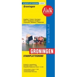 Groningen Stadsplattegrond