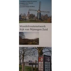 Wandelkaart wandelroutenetwerk Rijk van Nijmegen Zuid