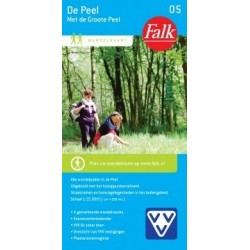 Wandelkaart De Peel (Falk)