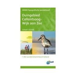 Wandelkaart Duingebied Callantsoog-Wijk aan Zee ANWB