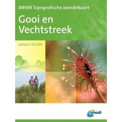 ANWB Topografische wandelkaart Gooi en Vechtstreek