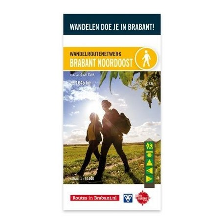 Wandelknooppunten Wandelkaart Brabant Noordoost