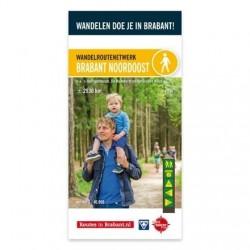 Wandelkaart Brabant Noordoost- Het Groene Woud
