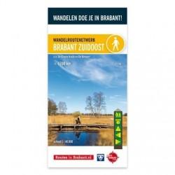 Wandelkaart Brabant Zuidoost- De Kempen