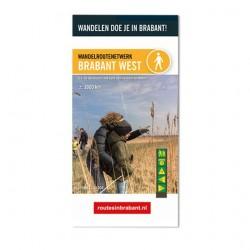 Wandelkaart Brabant West- De Biesbosch