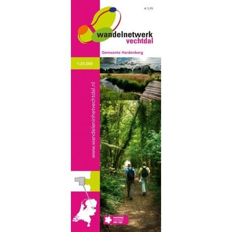 Wandelkaart Vechtdal, Hardenberg