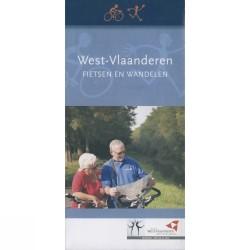 Overzichtskaart Fiets- en Wandelenroutes West-Vlaanderen
