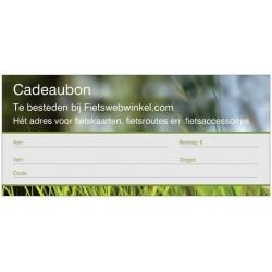 Cadeaubon t.w.v. € 5,00